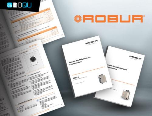 Robur, la manualistica tecnica complessa e in numerosissime lingue