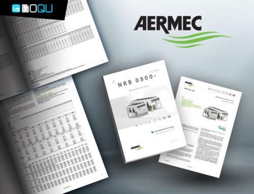 Aermec, prodotti configurati e diverse tipologie di documento